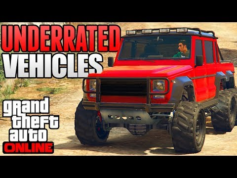 GTA 5 ONLINE - TOP 5 MOST UNDERRATED & FORGOTTEN CARS IN GTA 5 ONLINE! (GTA 5 Rare Cars)