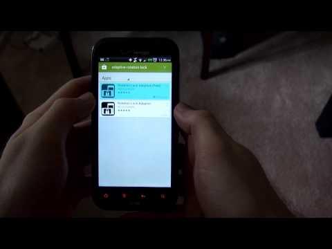 Adaptive Rotation Lock - Android Review