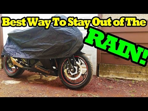 How to Keep Your Motorbike Dry in the Rain