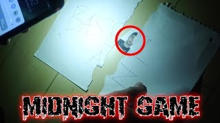 THE MIDNIGHT GAME CHALLENGE   WE FOUND SOMETHING WEIRD IN THE BASEMENT AT 3 AM