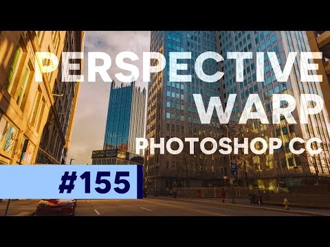 Photoshop Tutorial: AWESOME Perspective Warp