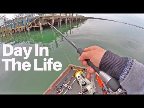 Oh My God Is That A BASS?! Day In The Life - Getting Through Tough Days & Filming MTB Videos