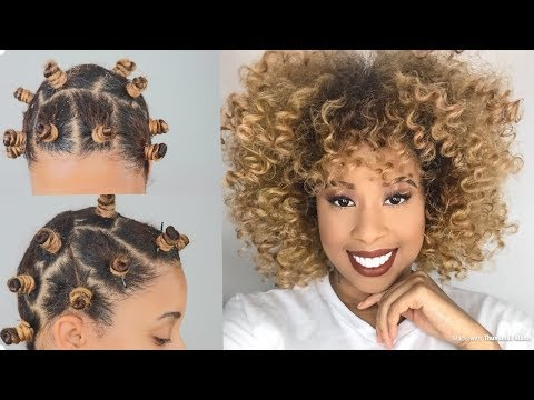 Bantu Knots on Fine Hair / House of Growth Products