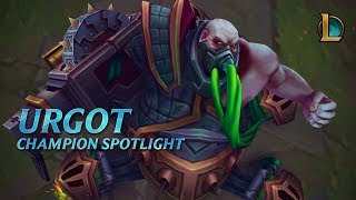 Urgot Champion Spotlight | Gameplay - League of Legends