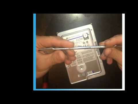 How to remove rare earth neodymium magnets from a hard drive (hdd)
