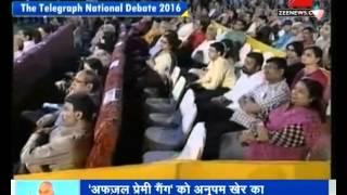 Anupam Kher's Speech against Anti-Nationalist   DNA