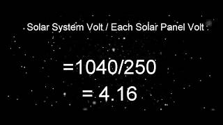 How to calculate solar panel | solar panel | Solar panel inverter selection | battery string