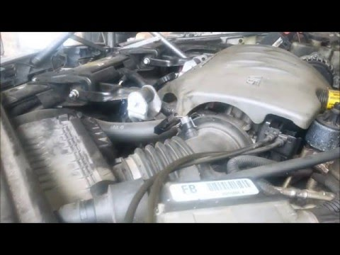 Air filter replacement - 2000 Buick Regal 3800 II