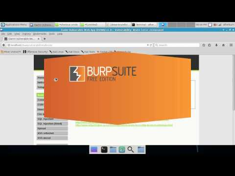How To: Brute Forcing website logins with Hydra and Burpsuite in Kali Linux 2.0