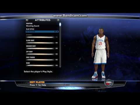NBA2K14: How To Edit Player