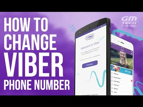 How To Change Your Viber Phone Number (Deactivate Account)