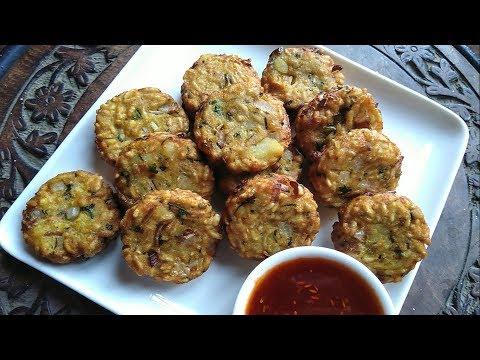 सुबह या शाम में बनाइये ऐसा टेस्टी नाश्ता की स्वाद मुहं से न उतर पाये - Murmure ke cutlet