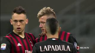Highlights AC Milan-Genoa CFC 19th March 2017 Serie A