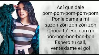 Becky G ft. Natti Natasha - Sin pijama (Letras/Lyrics)