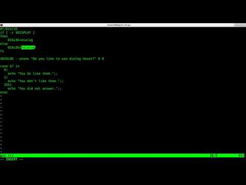 GUI Dialogs with your Linux Shell Script tutorial