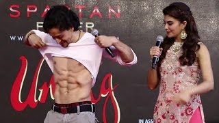 UNCUT - Tiger Shroff And Jacqueline Promotes A Flying Jatt At Umang Festival 2016