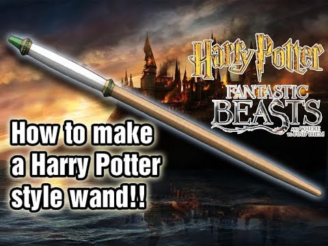 Movie Prop Making | How to make a Harry Potter Wand Part 1 | Handmade Props