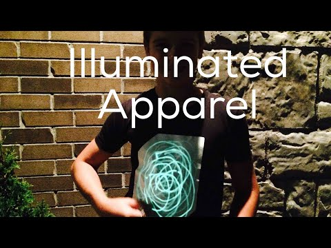 GLOWING T-SHIRTS! Illuminated Apparel