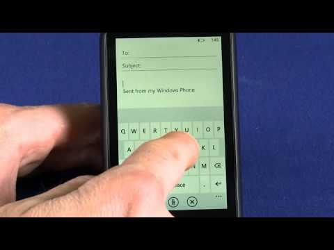 Using email on your Windows Phone 7 device