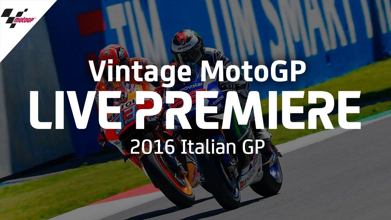 2016 #ItalianGP | Vintage MotoGP™