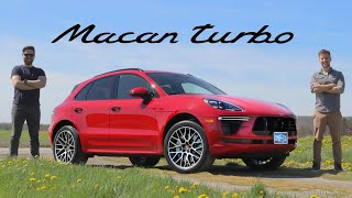 2020 Porsche Macan Turbo Review // Too Fast, Too Serious
