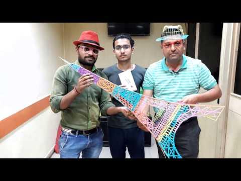 3D pen: Making Eiffel Tower 3.5 feet Tall