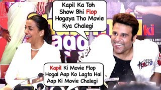 Krushna Abhishek Openly Makes FUN of Kapil Sharma In Front Of Media In An Interview