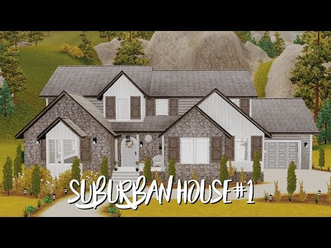 THE SIMS 3 HOUSE BUILDING | BLOCK OF SUBURBAN HOUSES SERIES #1