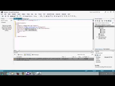 dynamically display  ads in website using ad rotater in asp net c#