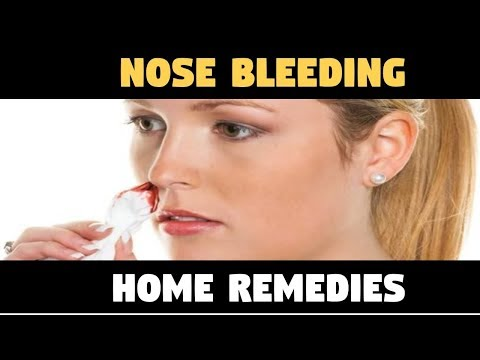 Why NoseBleed – NOSE BLEEDING Home Remedies – Epistaxis – Causes