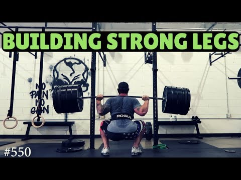 Top 5 exercises to build STRONG legs