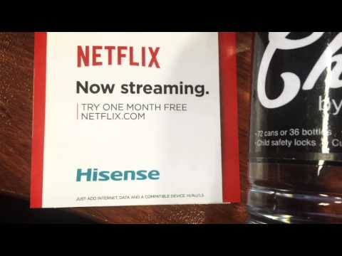 Hisense Introduces the K321 with Built In Netflix