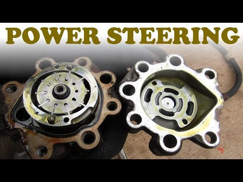 How a Power Steering Pump Works