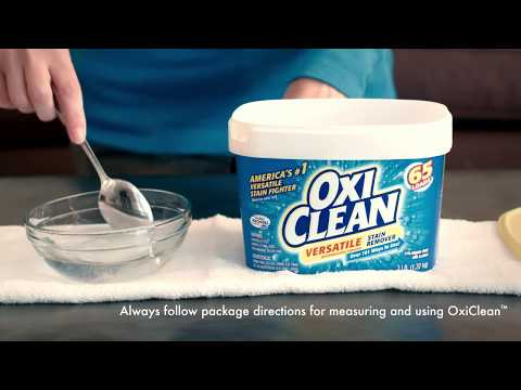 How to Clean Carpet Stains with OxiClean™ Versatile Stain Remover