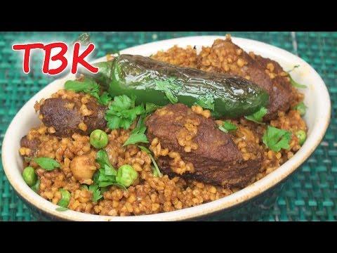 Tunisian Borghol Bil Allouche Recipe - Titli's Busy Kitchen