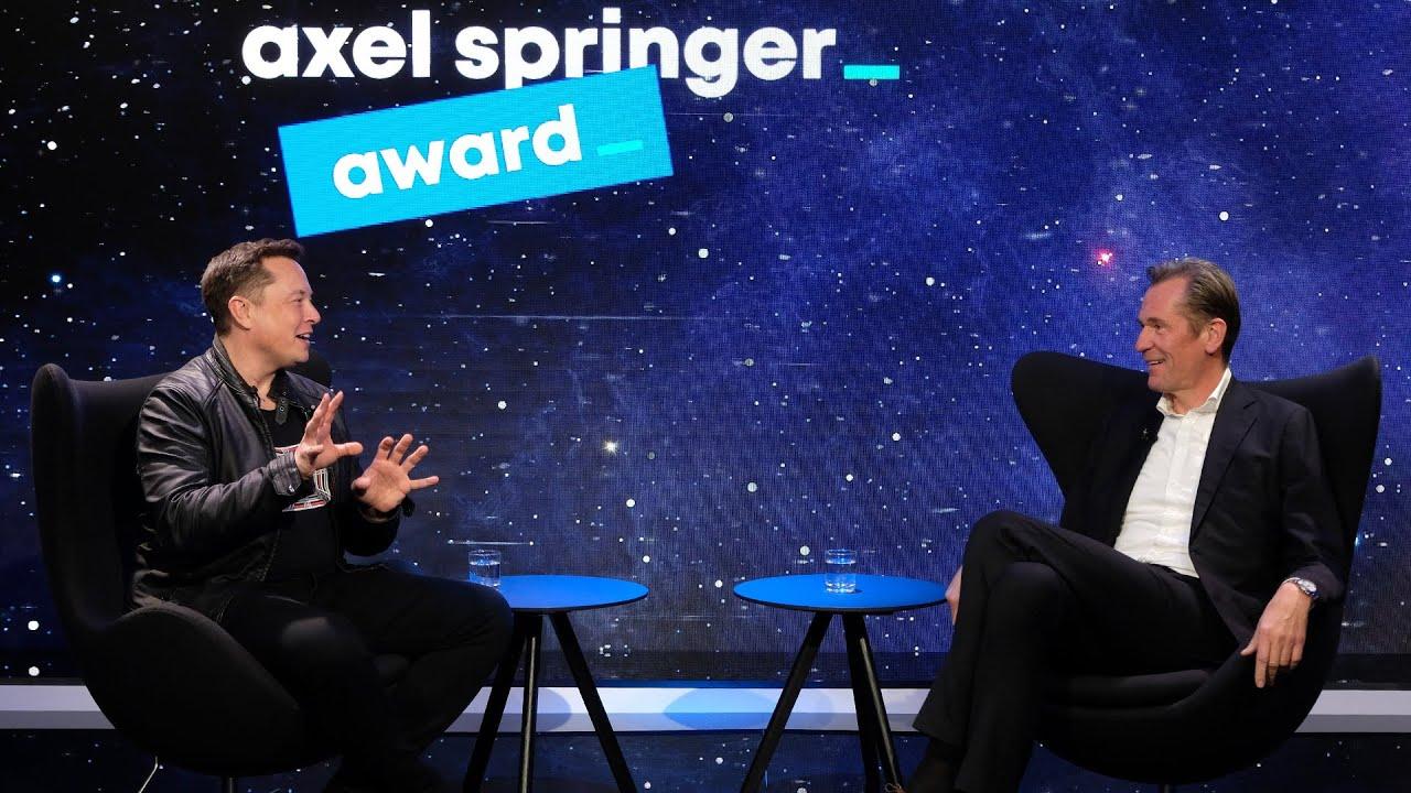 Axel Springer Award 2020