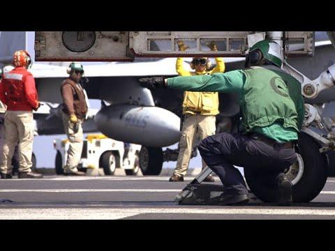 This Sailor Got Sucked Inside a Fighter Jet Engine
