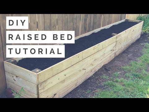 DIY Raised Bed / Planter Box Tutorial