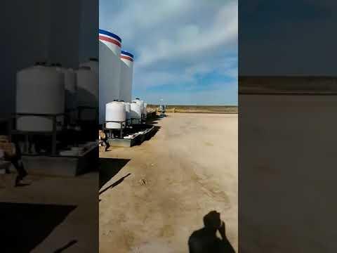 Oil Field en Odessa Texas