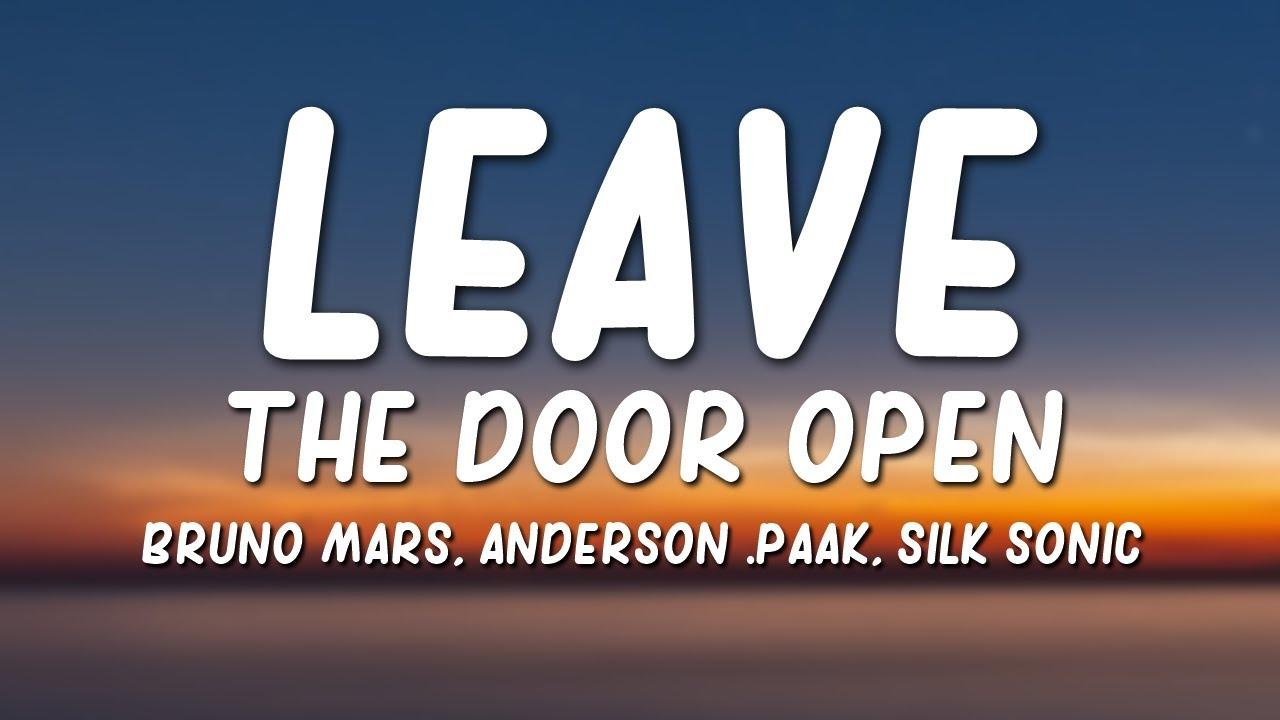 """Bruno Mars, Anderson .Paak, Silk Sonic - Leave the Door Open """""""