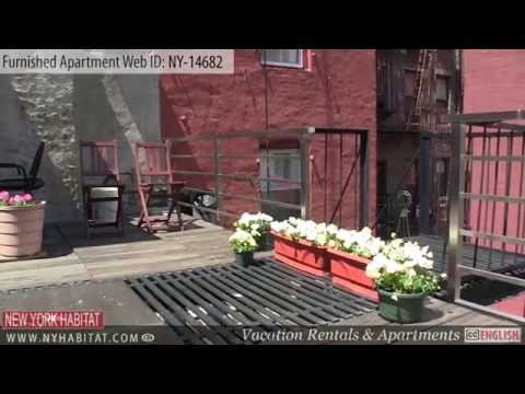 Video Tour of a 1-bedroom Furnished Apartment in the Lower East Side, Manhattan, New York
