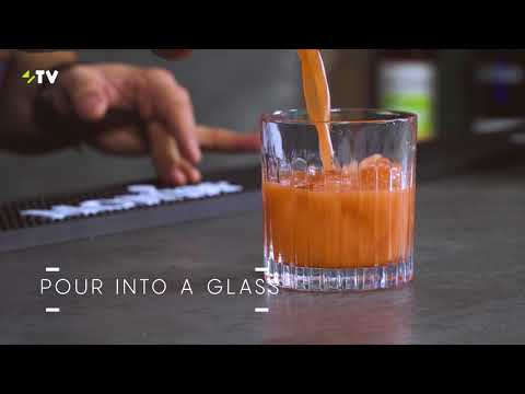 Carrot Basil Mocktail - How to