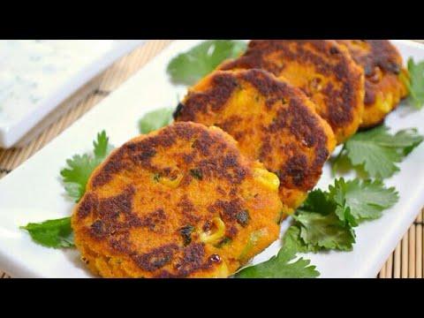 Bread Cutlet | Bread Corn Cutlet | Crispy Vegetable cutlets