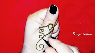 97ccad77b latest ''D' and 's' letter mehndi tattoo || D and s alphabet henna mehndi  tattoo easy simple