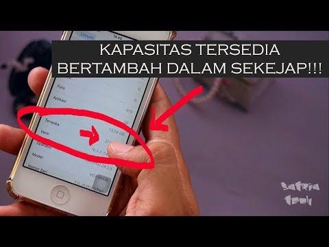 Cara menambah kapasitas memori di iPhone dalam sekejap!!! - Tutorial