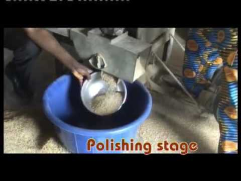 SMALL SCALE CAPSFEED PARBOILED PADDY RICE MILLING PROCESSING NIGERIA