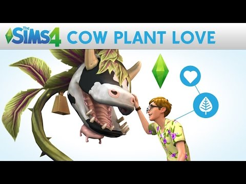 The Sims 4: How to milk a cowplant