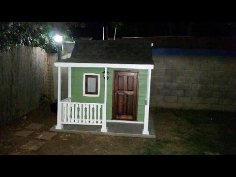 How to make a porch rail