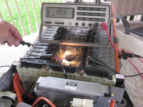 DIY - Finding Good & Bad Prius Hybrid Battery Modules - using load testing method