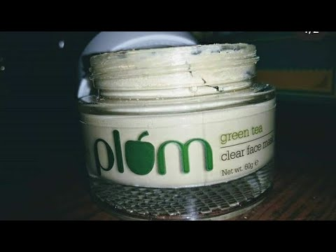 Plum Green Tea face mask review | all about skin and makeup